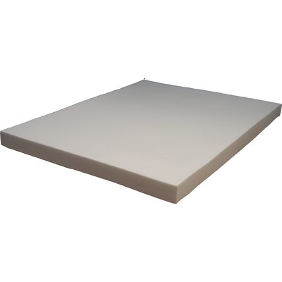 Super Premium Soy Based 4.5 Memory Foam Mattress Topper Size: Twin XL