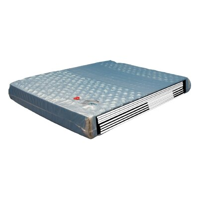 9 Double-Wall Leak-Proof Patented Hydro Support 2100dw Mattress Waterbed Size: Queen