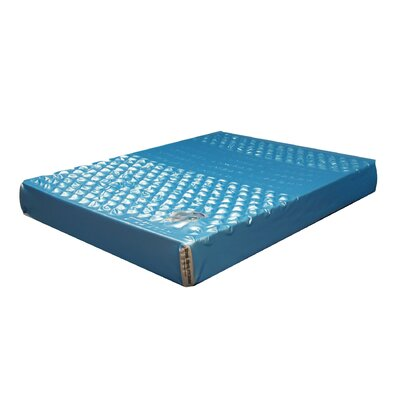 Double-Wall Leak-Proof Patented Waterbed Mattress Hydro-Support 1900dw Size: Double-Wall King