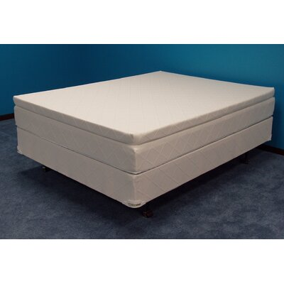 Winners Silver Charm 30 Soft-side Waterbed Mattress Size: Twin Extra Long
