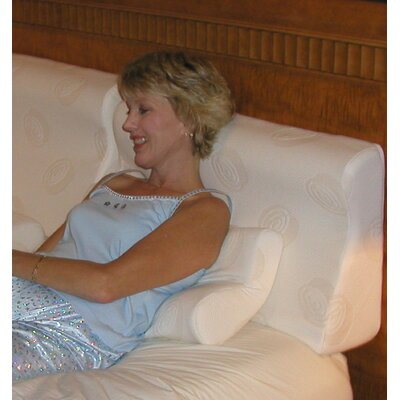 Supple-Pedic Sit-Up Headboard Foam Pillow Size: King