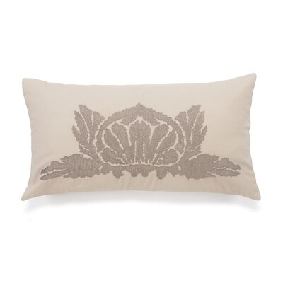 Foscarin Lotus Decorative Cotton Throw Pillow