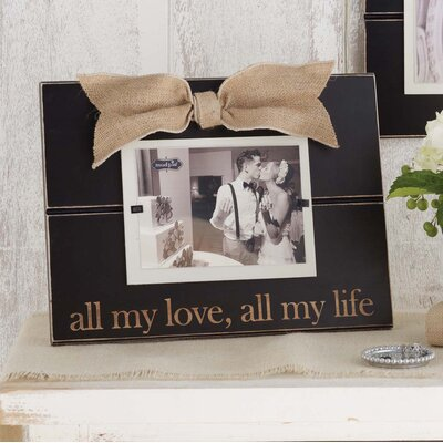 All My Love, All My Life Picture Frame 195119