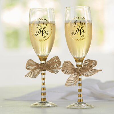 I'm His/Hers 2 Piece Champagne Set 4465029