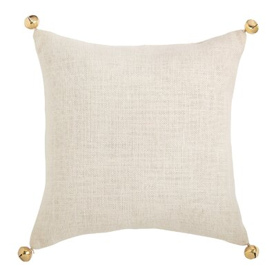 Jingle Bell Cotton Throw Pillow (Set of 2)