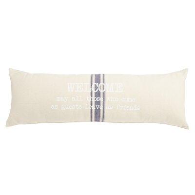 Welcome Grainsack Lumbar Pillow