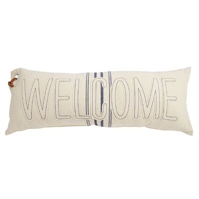 Welcome Grainsack Lumbar Pillow