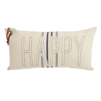 Happy Grainsack Lumbar Pillow