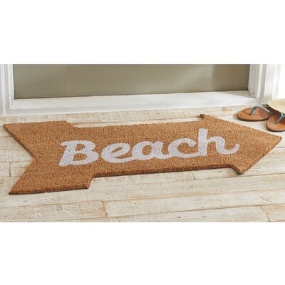 Beach Arrow Doormat