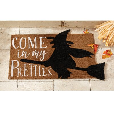 Come In My Pretties Halloween Doormat