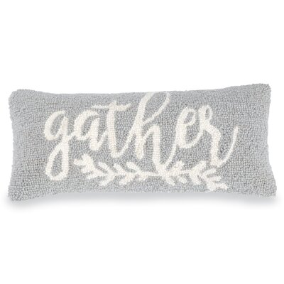 Gather Hooked Accent Lumbar Pillow