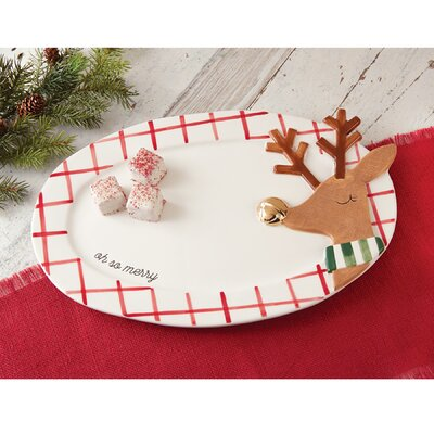 Christmas Reindeer Serving Platter 4075111