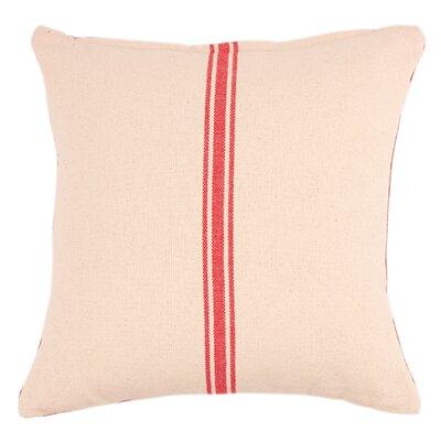Reversible Grainsack Cotton Throw Pillow (Set of 2)