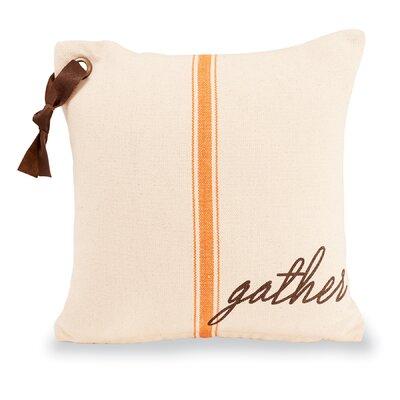 Gather Grainsack 100% Cotton Throw Pillow