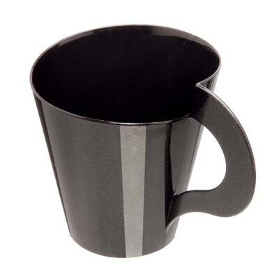 Plastic Espresso Cup Color: Black 04417
