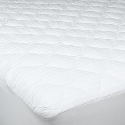 250 Threat Count Cotton Damask Stripe Twin XL Mattress Pad