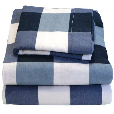 100% Cotton Flannel Sheet Set