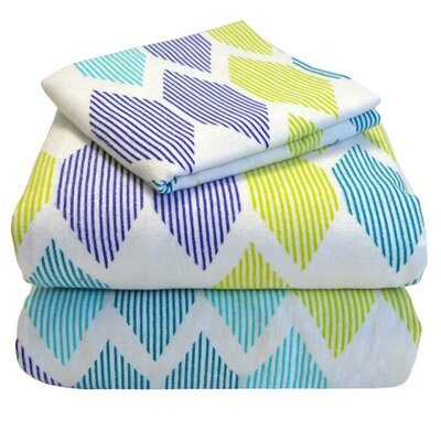 Twin XL 100% Cotton Flannel Sheet Set