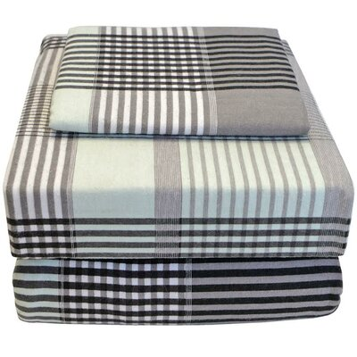 100% Cotton Flannel Twin XL Sheet Set