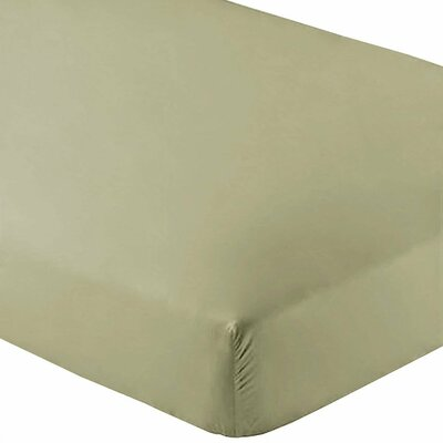 Premium Wrinkle Resistant Ultra Soft 2 Piece Fitted Sheet Set Color: Sage, Size: Twin XL