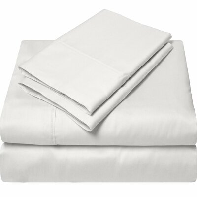 300 Thread Count Egyptian Quality Cotton Sheet Set Color: Off White, Size: Twin