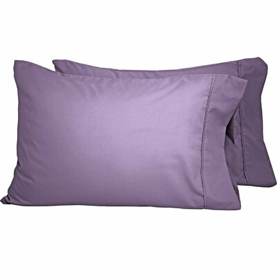 Shiflet Luxury Premium Ultra-Soft Pillow Case Size: King, Color: Lavender