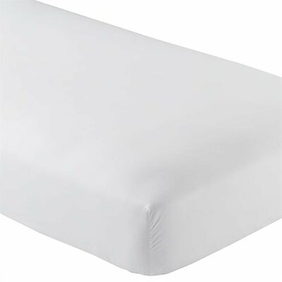 Premium Wrinkle Resistant Ultra Soft 5 Piece Fitted Sheet Set Size: Full XL, Color: White