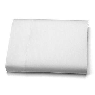 Ultra-Soft Luxury Microfiber Flat Sheet Size: King, Color: White