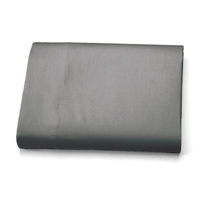Ultra-Soft Luxury Microfiber Flat Sheet Size: Full, Color: Gray