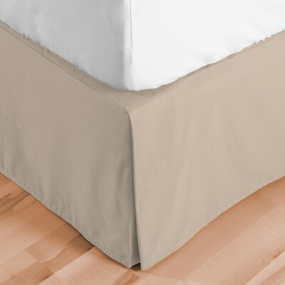 Abe Premium 1800 Thread Count Bed Skirt Size: Twin XL, Color: Sand