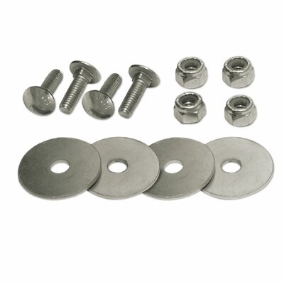 Carriage Bolt Double Set for Fastening 2 E-Track Singles