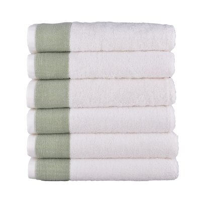 Venice Towel Set Color: Olive Green