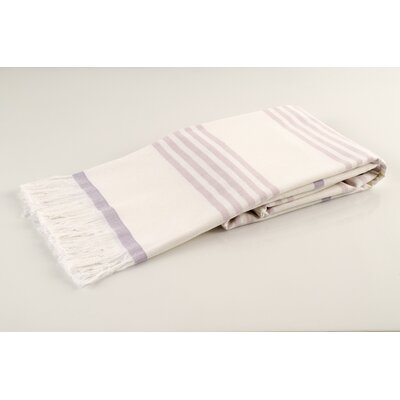 Sultan Luxury Turkish Terry Beach Towel Color: Lilac