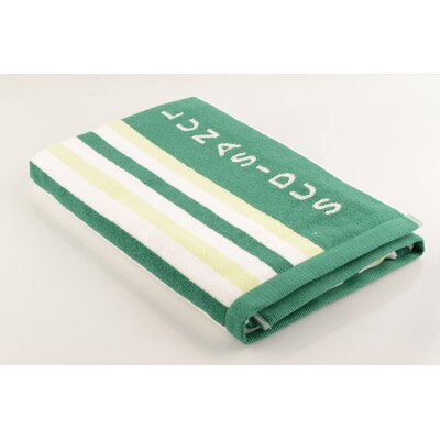 Palermo Beach Towel Color: Lime Green/Dark Green