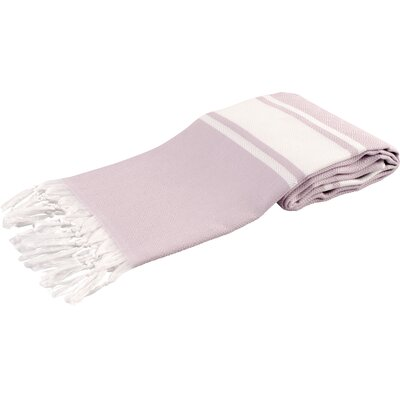 Pasha Luxury Turkish Beach Towel Color: Lilac