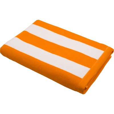 Phaselis Beach Towel Color: Orange