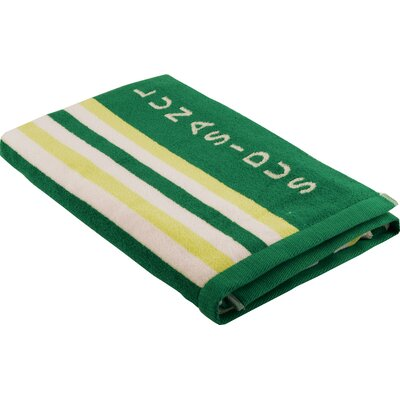 Luxury Stripe Beach Towel Color: Green - Lime