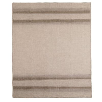 Baby Alpaca Woven Throw Color: Brown/Taupe