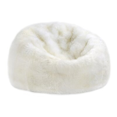 Bean Bag Chair Upholstery: Ivory