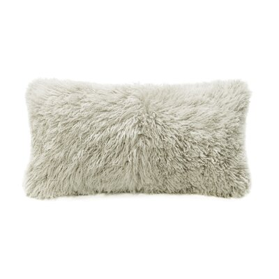Wool Lumbar Pillow Color: Bamboo