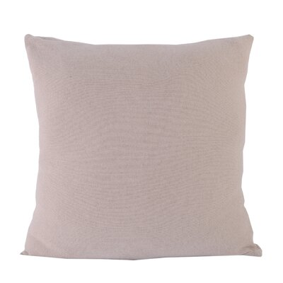 Flat Weave Throw Pillow Color: White
