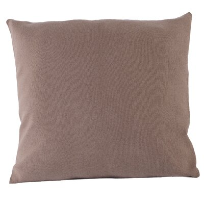 Flat Weave Throw Pillow Color: Camel