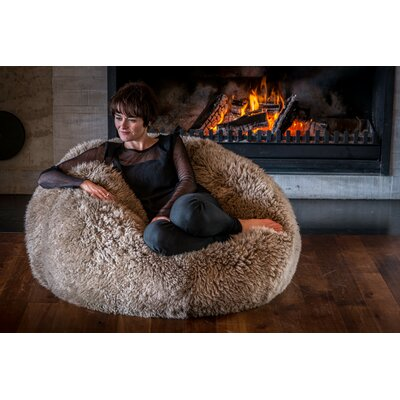 Bean Bag Chair Upholstery: Taupe
