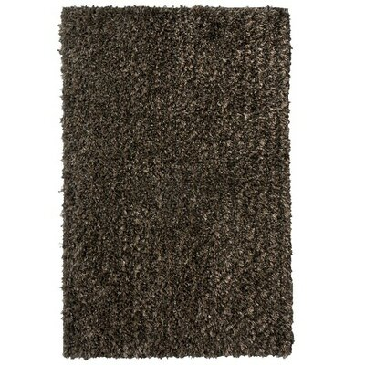 Flash Shag Black Area Rug