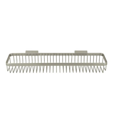 Rectangular Wire Shower Caddy Finish: Brushed Nickel