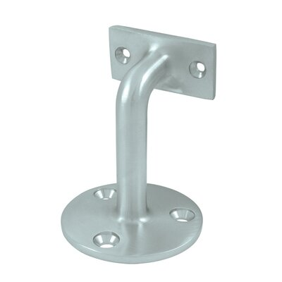 3 Projection Hand Rail Brackets Finish: Brushed Chrome
