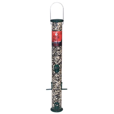 Ring Pull Tube Bird Feeder Color: Green RPS23GMB