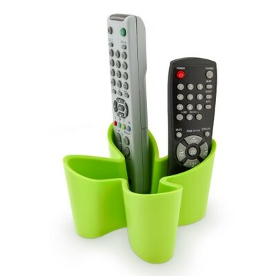Cozy Remote Control Caddy Color: Green