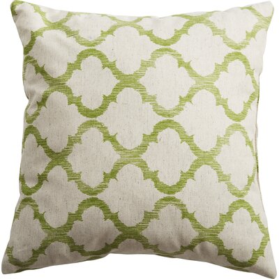 Mullinax Linen Throw Pillow Color: Palm