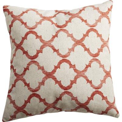 Mullinax Linen Throw Pillow Color: Mango